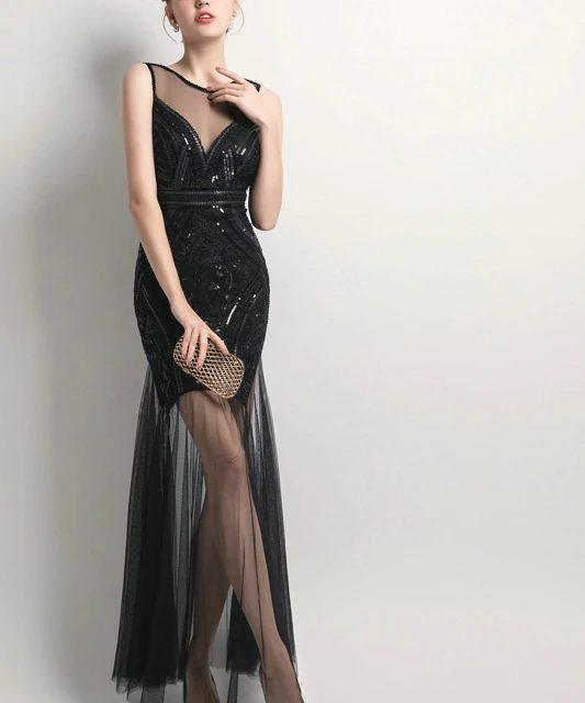 Sequins Beading Dress